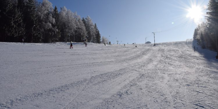 Skvělé lyžařské podmínky
